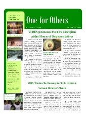 VIDES October News Flash