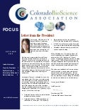 October Newsletter - Colorado BioScience Association