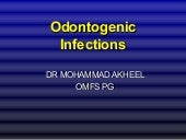 Odontogenic infections