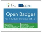 Open Badges for Individuals and Organisations