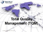 Total Quality Management (TQM) by O...