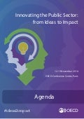 OECD conference on Innovating the Public Sector: From Ideas to Impact, 12-13 November 2014