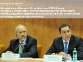 Launch of OECD Competition Assessment Project in Romania