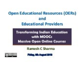 Open Educational Resources (OERs) a...