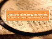 OERScout Technology Framework: A No...