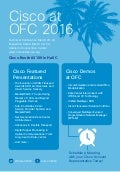 Cisco at OFC 2016