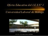 Oferta educativa de la universidad ...