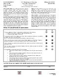 Pre-Qualification Questionnaire for Police Officers