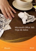 Hoja de datos Office 365