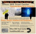 Office 365 Trust Center Security, Privacy and Compliance Infographic
