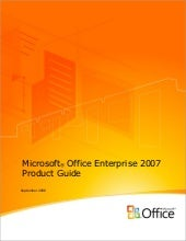 Office Enterprise2007 Product Guide