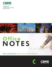 March 2011 Office Notes