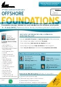 Offshore foundations agenda