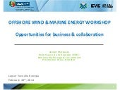Offshore wind and marine energy wor...