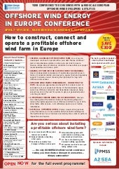 Offshore Wind Energy In Europe Conf...