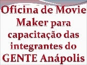 Oficina movie maker
