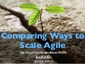 Ways to Scale Agile