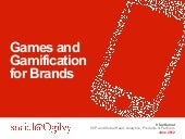 Brands, Games and Gamification