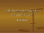 Oklahoma Automobile Insurance Overv...