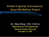 Seismic Capacity Assessment of San...