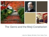 Japan: Meiji Oligarchs and the cons...