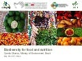 Biodiversity for Food and Nutrition in Brazil