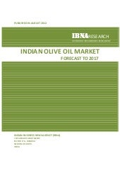 Indian Olive Oil Market Forecast to...