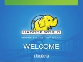 Hadoop World 2011: Mike Olson Keyno...