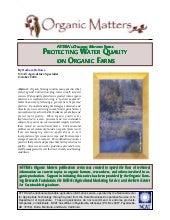 Protecting Water Quality on Organic...