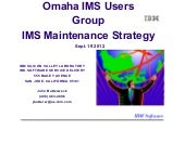 IMS Maintenance Strategy - IMS UG S...