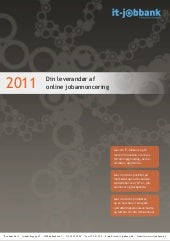 Om IT-Jobbank 2011