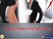 All Type Security In Pune - Om Sai Security Services
