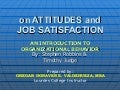 On Attitudes and Job Satisfaction