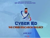 On Philippine Cyber-education Proje...