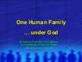 One Human Family under God