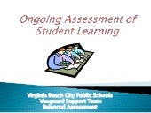 Ongoing assessment of student learn...