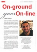 On Ground  Goes On Line