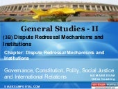 Online coaching-for-gs-ii-dispute-redressal-mechanisms-and-institutions-3 b