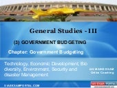 Online coaching-for-gs-iii -govenment budgeting