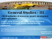Online coaching-for-gs-iii-indian-economy-and-issues-relating-to-planning-mobilization-of-resources-growth-development-and-employment-1 b