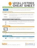 Cheat Sheet to Local Online Listings