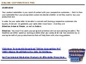Online Copywriting Pro (With Master...