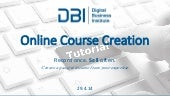 Online Course Creation - Ver.1 - April 2014