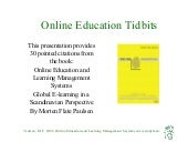 Online Education Book