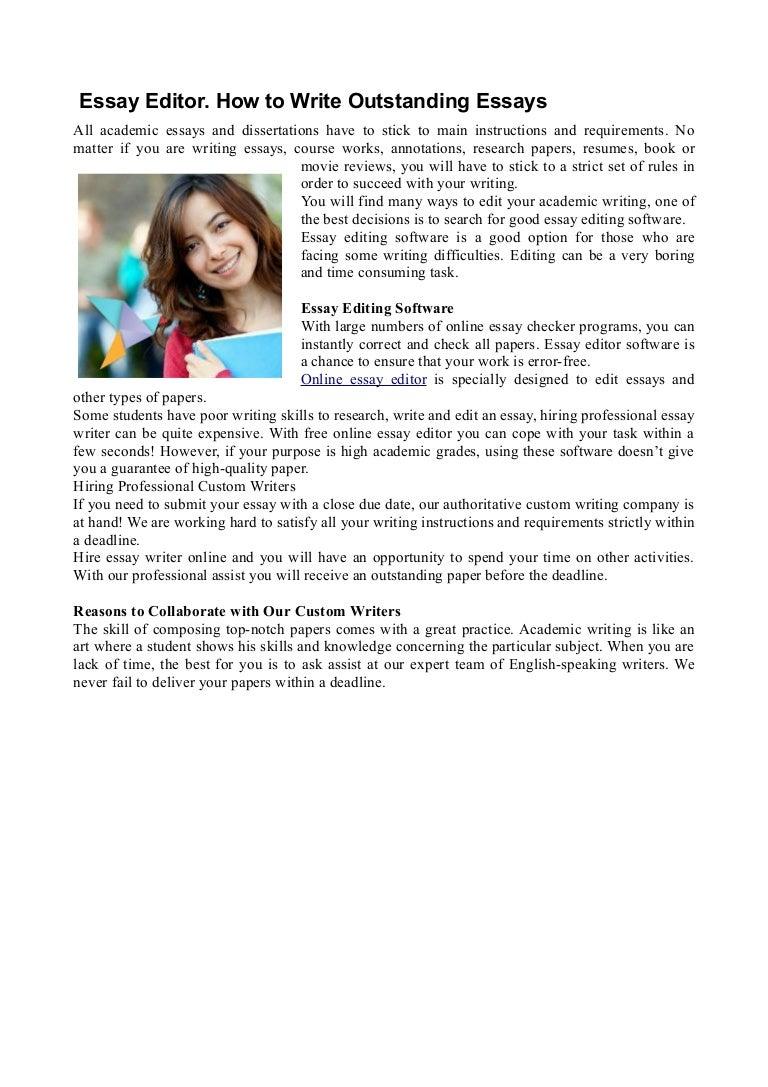 Online Essay Editor Editing Essays Online Free Online Essay Onlineessayeditor  Conversion Gate Thumbnail  Online Essay Editor