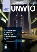 UNWTO Report: Online guest reviews and hotel classification sytems