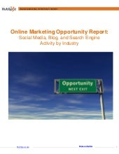 Online Marketing Opportunity by Ind...