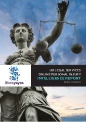 Market Intelligence Report: Online Personal Injury 2013
