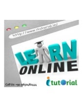Online registration open for 6 months online courses in noida