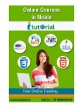 Online registration open for 6 months training in noida